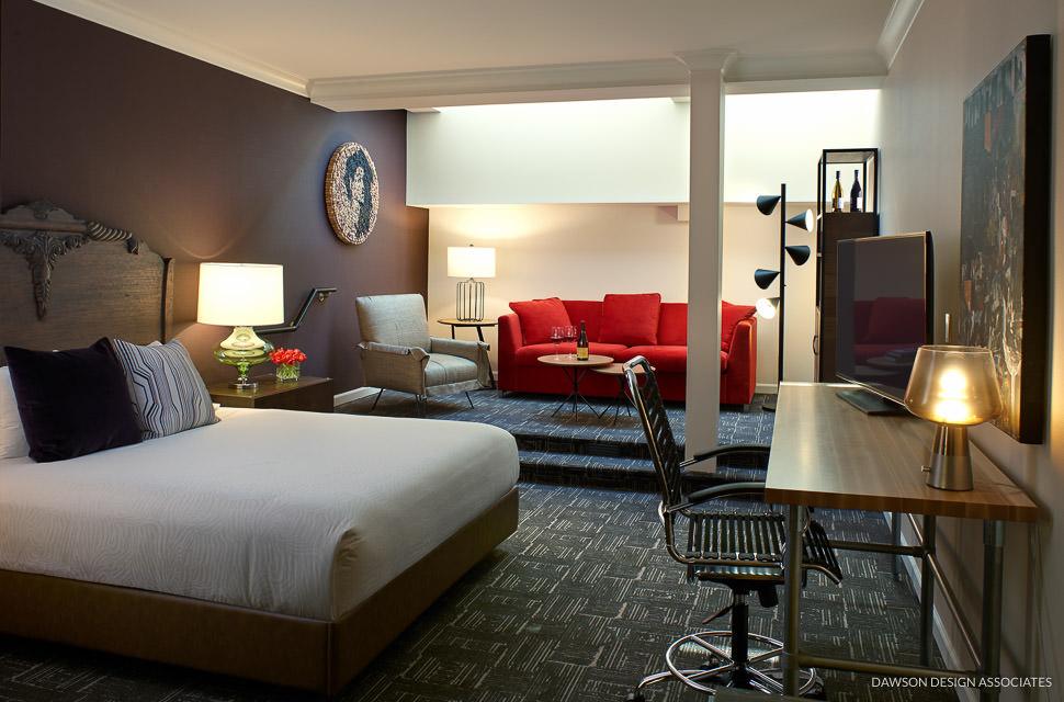 Hotel Vintage Portland Dawson Design Associates Hospitality Interior Design