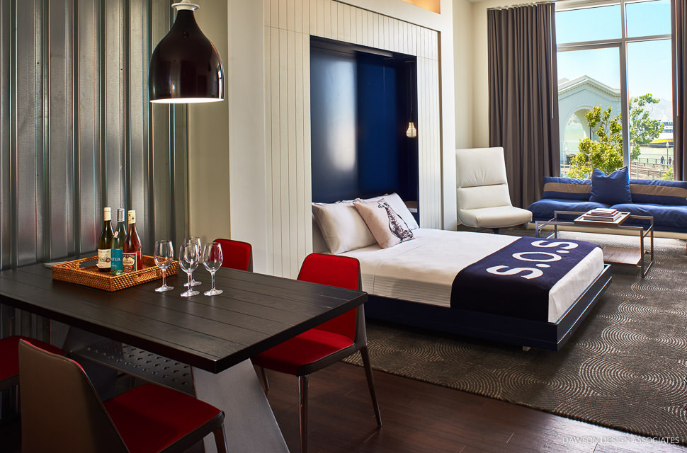 Hotel zephyr fisherman s wharf dawson design associates for Design boutique hotel tirol