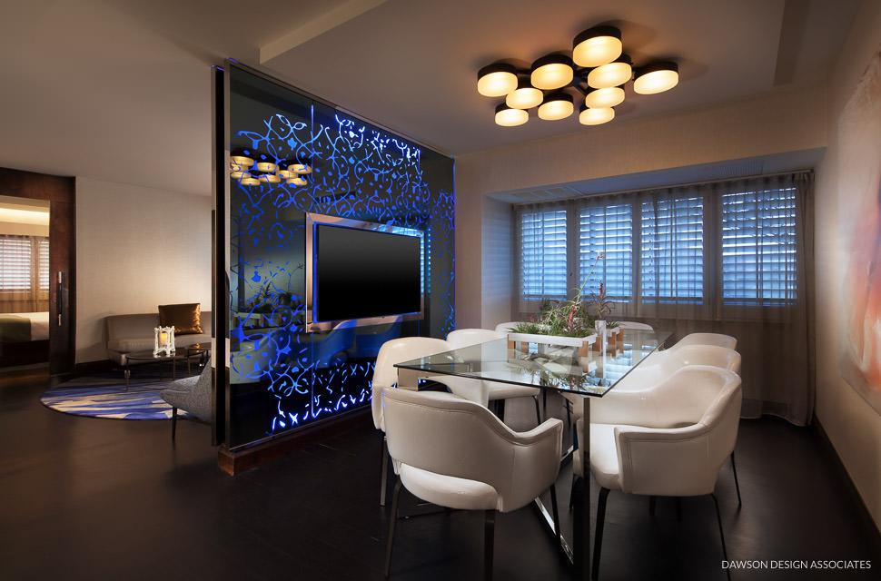 W Hotel Los Angeles West Beverly Hills Dawson Design Ociates Hospitality Interior