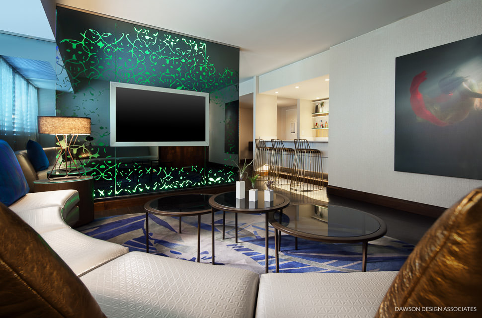 W Hotel Los Angeles West Beverly Hills Dawson Design Associates Hospitality Interior Design