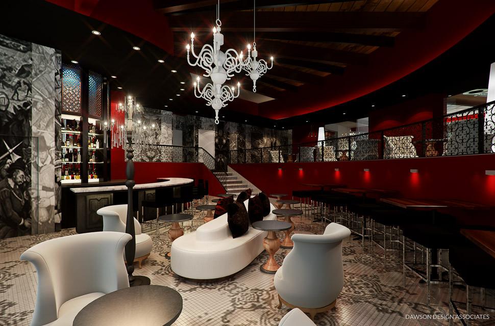 Rosso dda hospitality and restaurants bars interior design